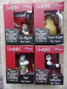 Vinimates Nightmare Before Christmas Nbx Jack Sally Le maire Oogie Boogie 699788183472