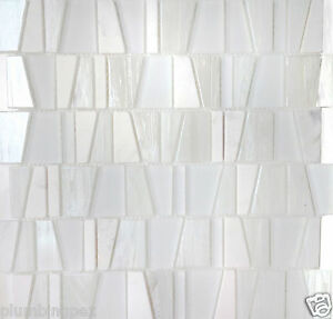 Image Is Loading White Textured Gl Amp Marble Kitchen Bath Wall