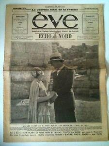 EVE-du-28-10-1928-Mlle-Lee-Parry-et-M-Jean-Murat