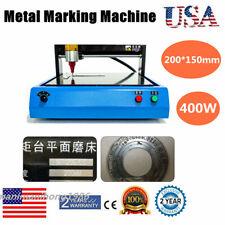 110v Electric Marker Engraving Machine For Nameplate Dog Tag Metal Steel Plastic