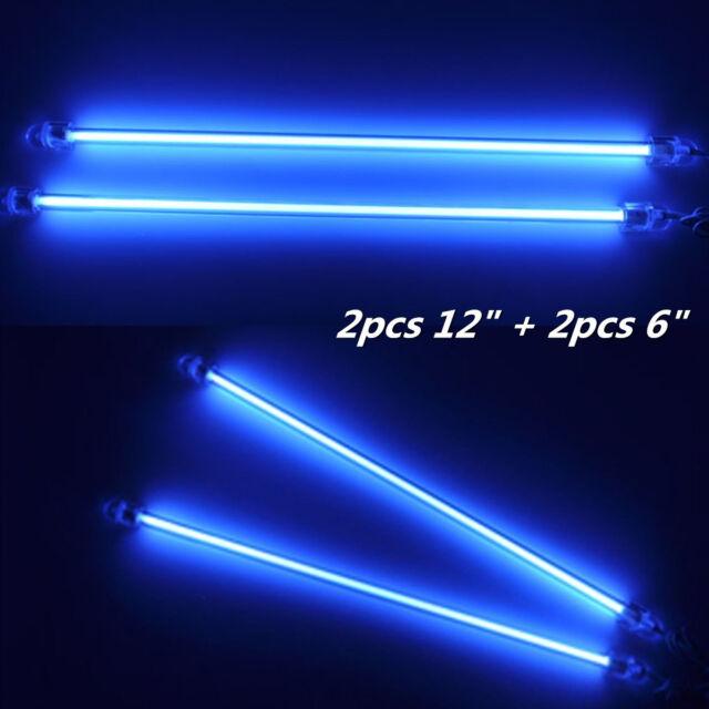 2x6 2x12 Blue Led Car Undercar Underbody Neon Light Ccfl Cold Cathode