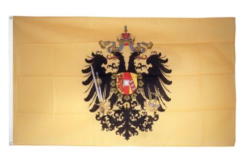 Fahne Österreich-Ungarn 1815-1915 Flagge historische Hissflagge 90x150cm