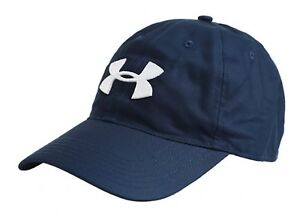 932e5f42e11 Under Armour GOLF CH 2.0 Caps Training Hat Navy Running GYM Cap ...