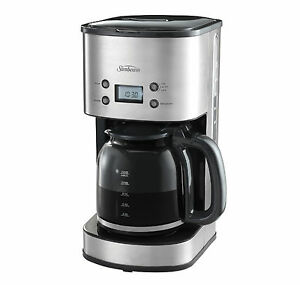 Sunbeam-PC7900-Auto-Brew-Stainless-Drip-Filter-Coffee-Machine-with-Timer