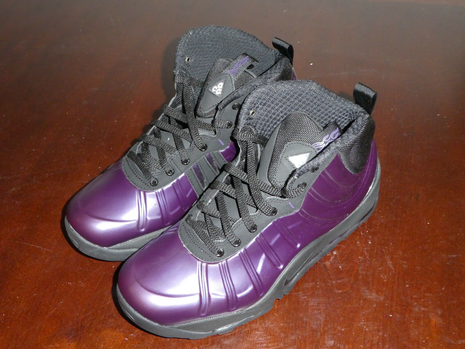 new arrival 634d2 26949 Nike Air Bakin Posite boots shoes 508 purple new Mens 618056  oslwet3246-Athletic Shoes