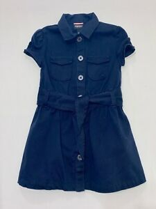Details about French Toast Button Front Navy Blue School Uniform Shirt  Dress, 4