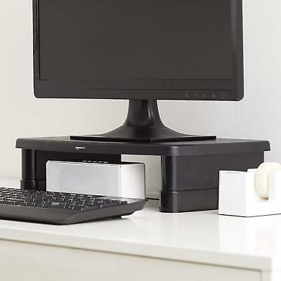 TV Screen Display Riser Shelf AmazonBasics Adjustable Monitor Stand Laptop UP