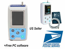 US Seller Ambulatory Blood Pressure Monitor+USB Software 24h NIBP Holter AB