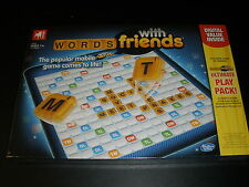 NIB SEALED WORDS with friends Board Game Classic With Ultimate Play Pack Card