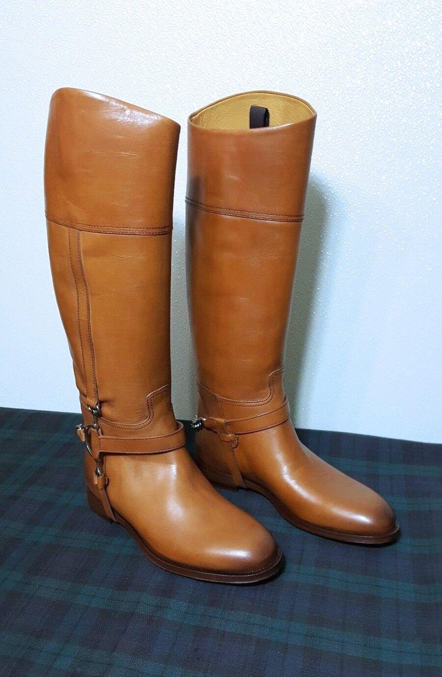 Ralph Ralph Ralph Lauren Collection Sandra Ecuestre Equitación Mujer botas de cuero de altura  6.5B  bienvenido a orden