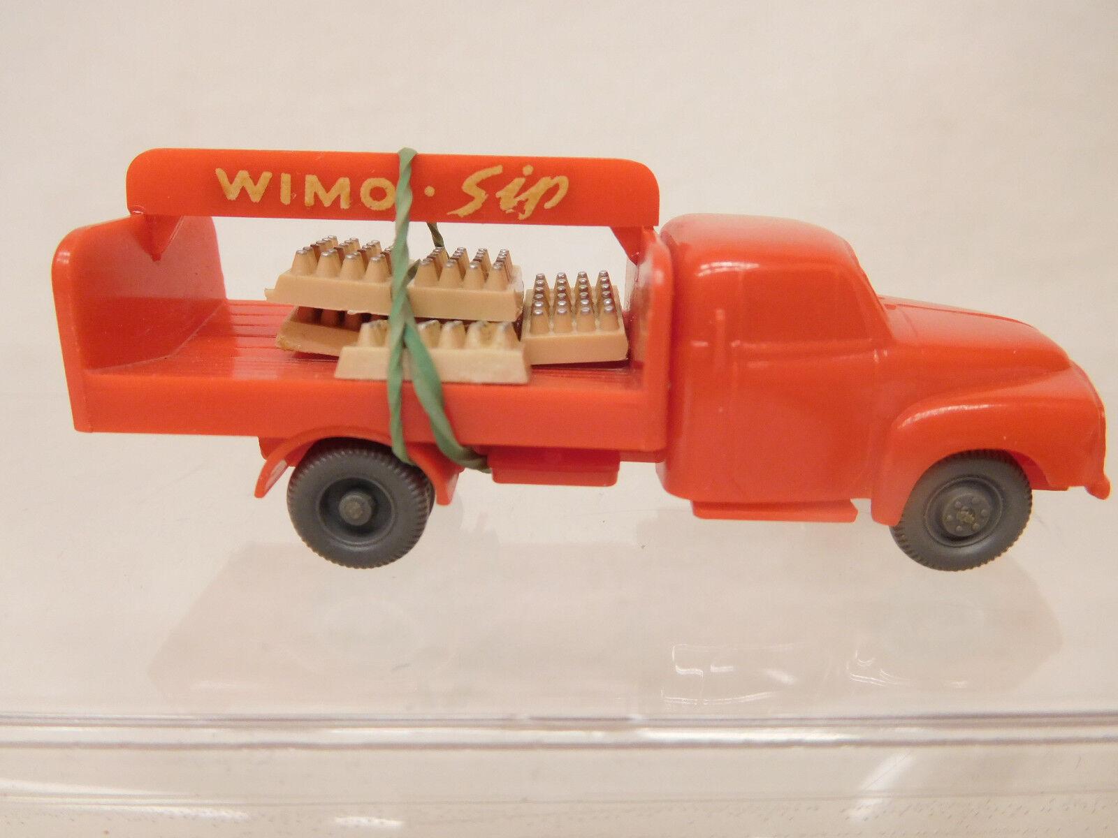 MES-57097 Alter Wiking 1 87 Opel Blitz Wimo-Sip mit minimale Gebrauchsspuren