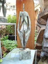 Weib  Bronze Bildhauer Kunstakademie bei Hrdlicka (S) u. Sackenheim (D) 45cm