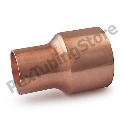 """1/"""" C x 1//2/"""" C Copper Reducing Coupling"""