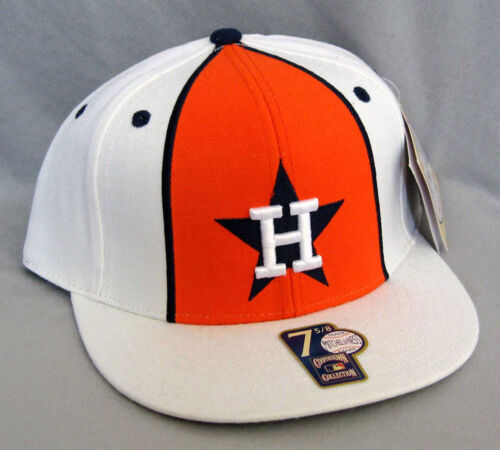 Mitchell /& Ness CAP Mitchell /& Ness Houston Astros MLB Baseball fitted Cap Berretto