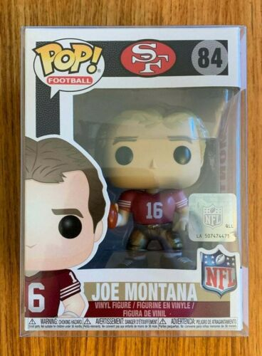 NFL San Francisco Joe Montana 49ers Sports Figure #84 Mint in Box Funko Pop