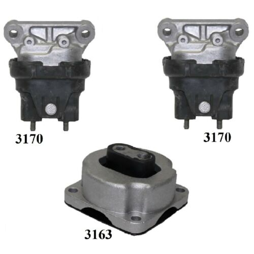 8USAUTO 2 PCS Front Motor Mount FIT 2006 Lincoln Zephyr 3.0L