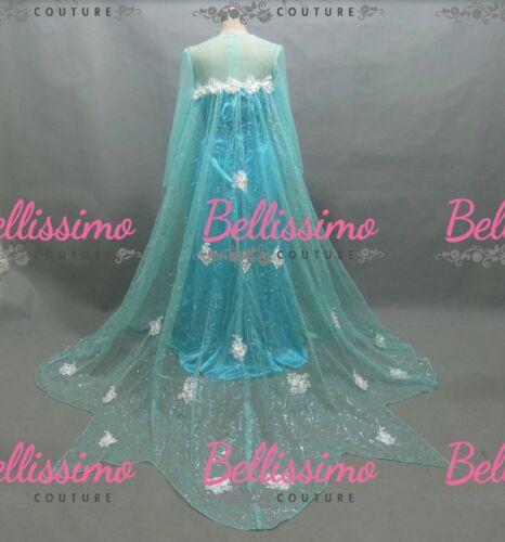 Elsa Reine Reine Elsa Reine des Costume Robe Plus Neiges Taille 28 Costume Size 18 nwgHYnqz