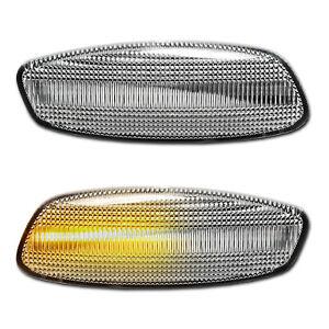 WEISSE dynamische LED Seitenblinker Peugeot 207 CC SW RC LM 308 SW 3008 5008 RCZ