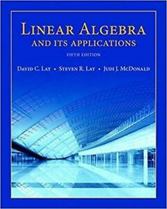 Linear Algebra and Its Applications Canada Preview