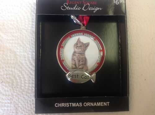 NEW STUDIO DESIGN best cat photo ornament