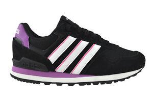 Schuhe 10k Women Black White Schwarz Adidas Purple Sneaker Aw4932 nYdwqn5fH