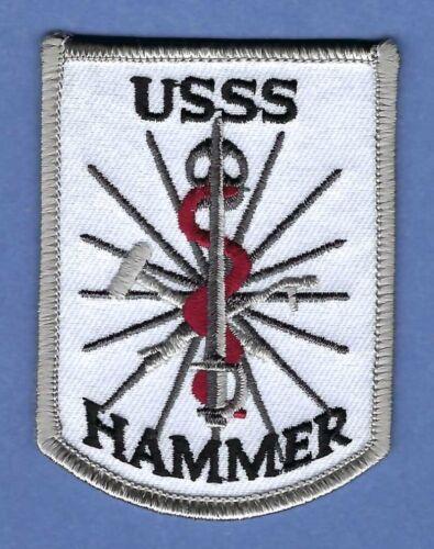 UNITED STATES SECRET SERVICE HAMMER TEAM HAZARDOUS AGENT MITIGATION PATCH WHITE