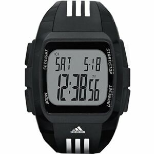Adidas-Men-039-s-ADP6071-Duramo-Sport-stopwatch-alarm-lap-memory-countdown-Watch