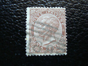 Italy-Stamp-Yvert-and-Tellier-N-18-Obl-A23-Stamp-Italy