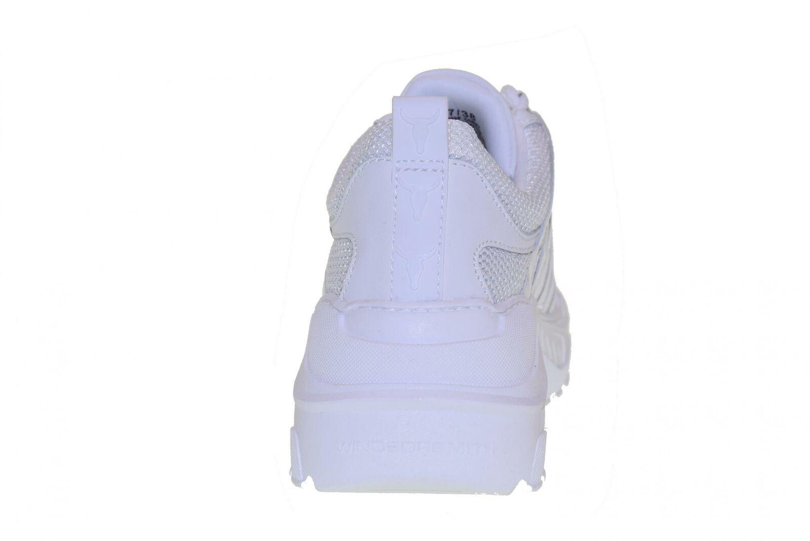 Windsor Windsor Windsor Smith P19f shoes femme baskets compensées COREY BIANCO 67f68a