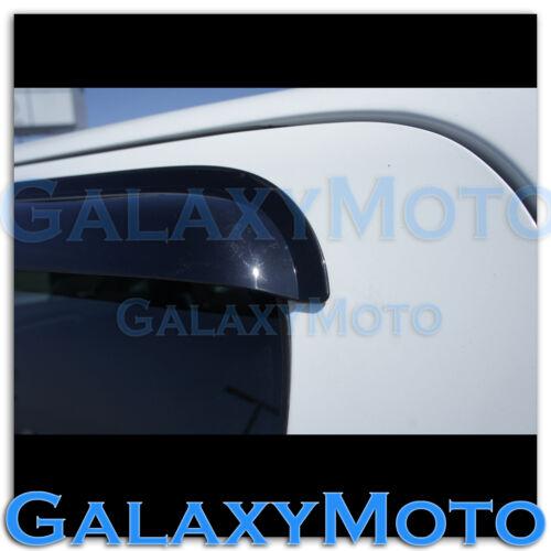14-15 GMC Sierra 1500 Extended Cab Smoke 4 Door Window Visor Rain Sun Guard Vent