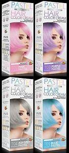 Coloration cheveux gris pastel