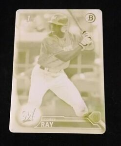 2016-BOWMAN-DRAFT-COREY-RAY-YELLOW-PRINTING-PLATE-SSP-RC-d-1-1