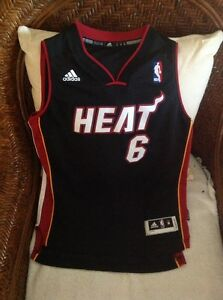 014fcd0d900 ... hot image is loading lebron james miami heat 6 adidas nba jersey 3f624  6e134