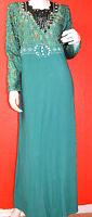 Islam-abaya-khimar:wunderschöne Edele Abaya Grün Mit Verschiedene Kleine