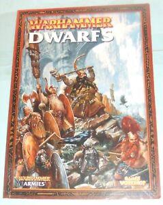 Games Workshop Warhammer Armées-nains.-afficher Le Titre D'origine 100% D'Origine