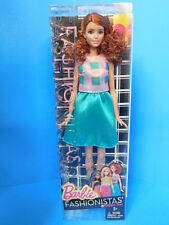 Barbie Fashionistas Doll 29 Terrific Teal - Tall