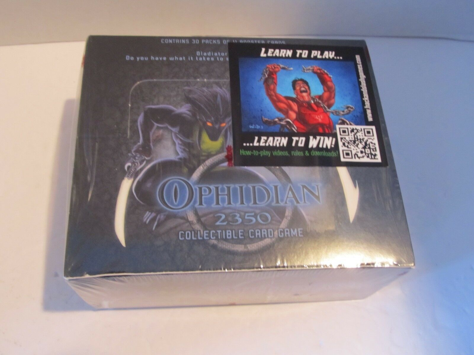 Ophidian 2350 Collectible Card Card Card Game Booster Box 2003 27490f