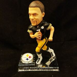 09531be44fa Image is loading PITTSBURGH-STEELERS-BEN-ROETHLISBERGER-Forever-Collectibles -ROOKIE-Bobble-