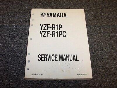 1998-2003 Yamaha YZF-R1 YZFR1 Clymer Repair Service Workshop Manual Book M398