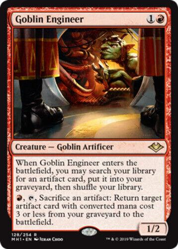 English Modern Horizons MTG Magic 1x Goblin Engineer NM-Mint