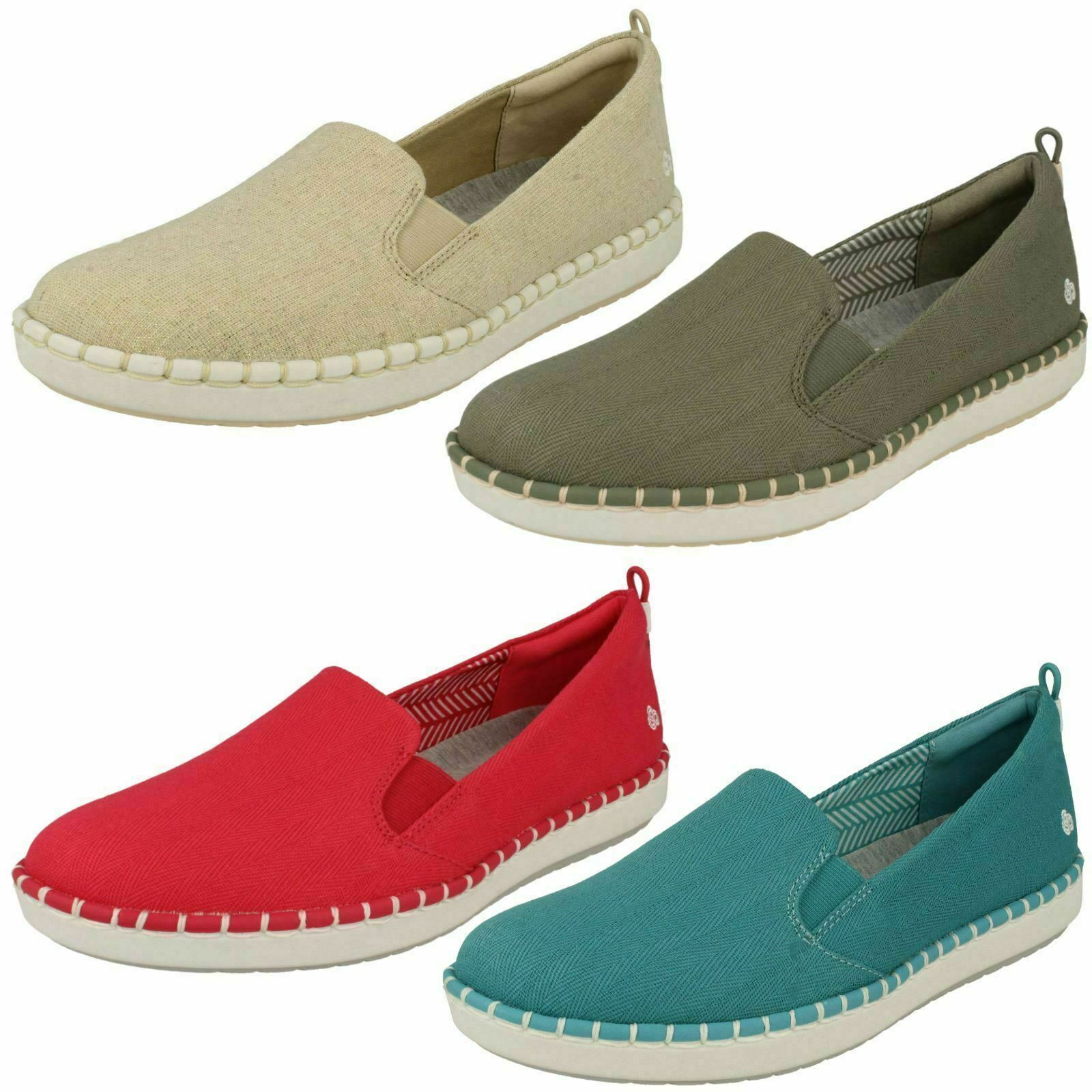 Clarks cloudsteppers Donna Sautope Casual  PASSO Glow scivolare'