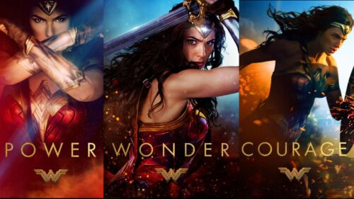13x19 inches Wonder Woman Movie Poster