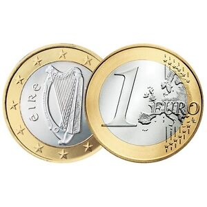 Ek // 1 Euro Irlande : Sélectionnez une pièce nueve