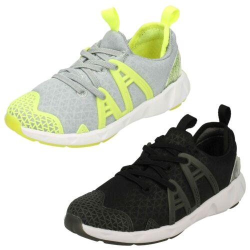 Boys Gloforms By Clarks Luminous Run Trainers
