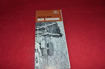 John Deere Tandem /& Offset Disks Dealer/'s Brochure DKA131 96-04 LCOH