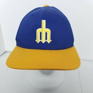 Seattle-Mariners-Retro-70s-Adjustable-Baseball-Hat-MLB