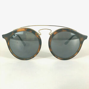 Preowned-Ray-Ban-RB4256-Gatsby-Matte-Tortoise-Sunglasses-49-mm-SEE-PICS-BG01