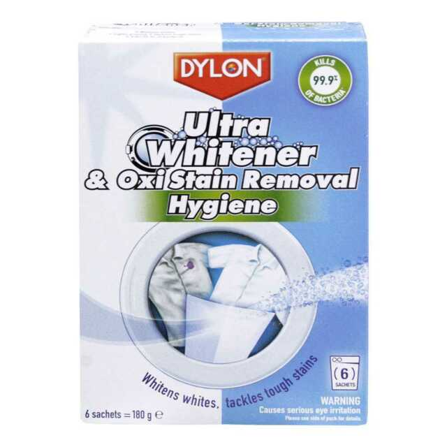 NEW Dylon Ultra Whitener & Oxi Stain Removal By Spotlight