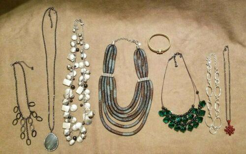 Vintage 7 JOAN RIVERS  NECKLACES & BRACELET JEWELR