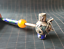 thumbnail 10 - Chinese Collection Handmade tibet-silver Cloisonne inlay monkey lion dragon Pipe